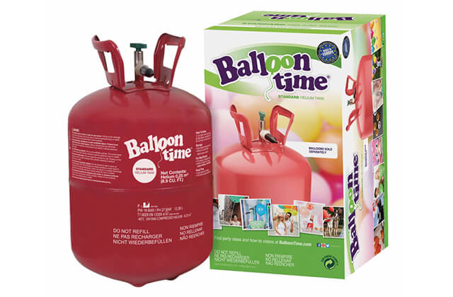 Héliová fľaša resp. hélium do balónov