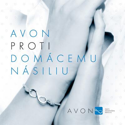 Spoločnosť AVON sa neangažuje len v predaji svojich produktov ale aj v boji proti domácemu násiliu