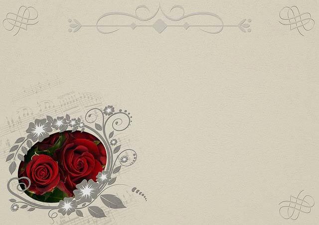 Romantické svadobné oznámenie