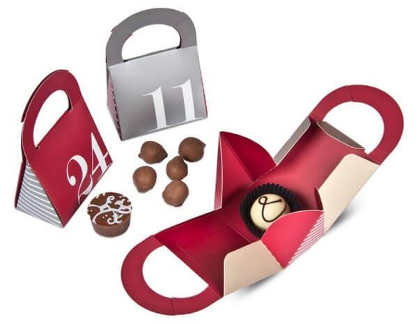 Čokoládové adventné kalendáre nielen pre deti