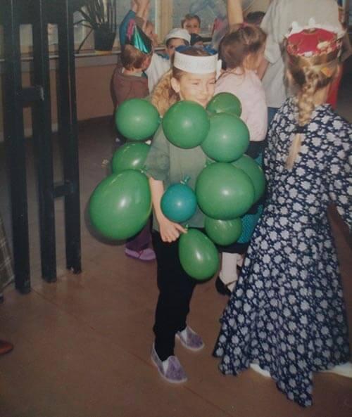 DIY karnevalový kostým