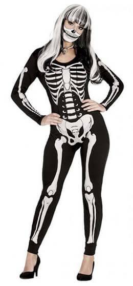 Halloweensky kostým kostry