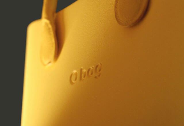 Originálne O BAG kabelky majú logo O BAG vždy v strede tašky