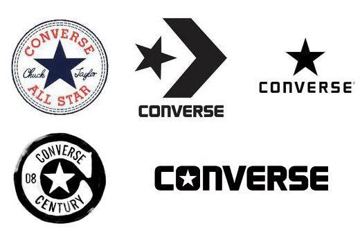 Logá značky Converse