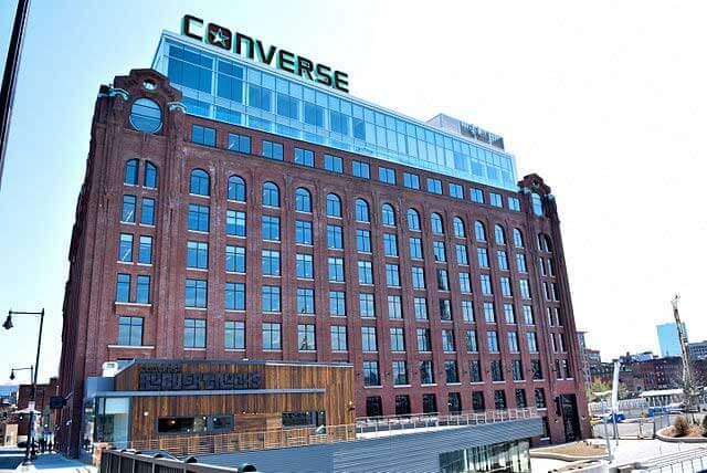 Sídlo spoločnosti Converse