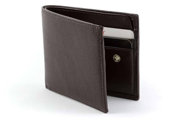Bi-fold pánska peňaženka