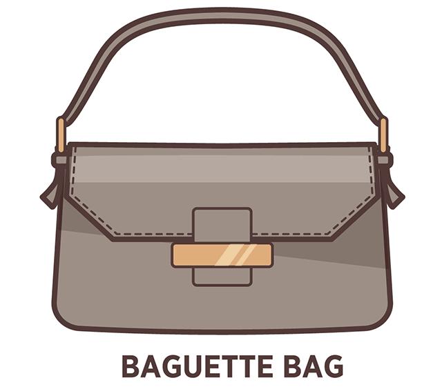 Baguette kabelka