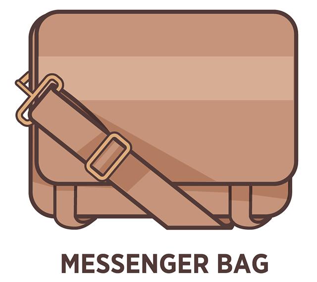 Messenger kabelka