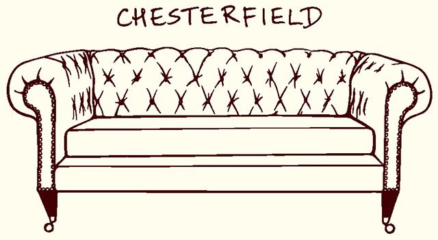 CHESTERFIELD sedačka