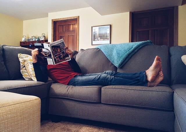 Pohodlný gauč